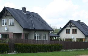 Projekt 2 budynków mieszkalnych jednorodzinnych w Mysłowicach - REALIZACJA