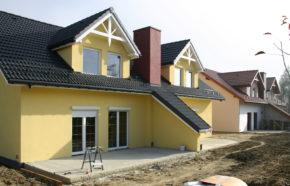 Projekt 2 budynków mieszkalnych jednorodzinnych w zabudowie bliźniaczej w Bielsku Białej - REALIZACJA