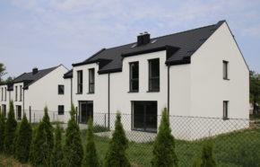 Projekt 2 budynków mieszkalnych jednorodzinnych w zabudowie bliźniaczej w Jasienicy - REALIZACJA