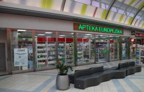 Projekt apteki w Bielsku-Białej w C.H. Sarni Stok - REALIZACJA