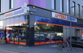 Projekt apteki w Częstochowie w DL CENTER POINT - REALIZACJA