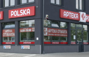 Projekt apteki w Dąbrowie Górniczej przy ul. 11-go Listopada - REALIZACJA
