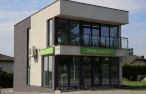 Projekt apteki w Katowicach przy ul. Szarych Szeregów - REALIZACJA