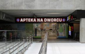 Projekt apteki w Katowicach w C.H. Galeria Katowicka - REALIZACJA