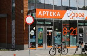 Projekt apteki w Krakowie przy ul. Dworskiej - REALIZACJA