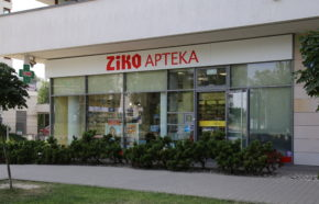 Projekt apteki w Warszawie przy ul. KEN - REALIZACJA