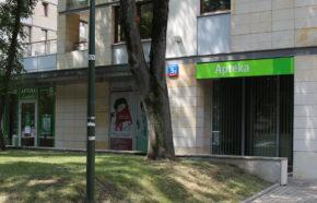 Projekt apteki w Warszawie w GALERIA PARK - REALIZACJA