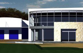 Projekt budynku handlowo produkcyjnego w Katowicach - REALIZACJA 2