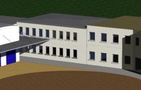 Projekt budynku handlowo produkcyjnego w Katowicach
