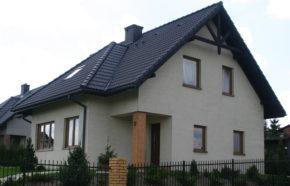 Projekt budynku mieszkalnego jednorodzinnego w Mysłowicach - REALIZACJA