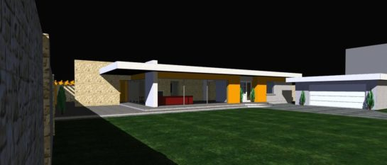 Projekt budynku mieszkalnego jednorodzinnego w Porębie