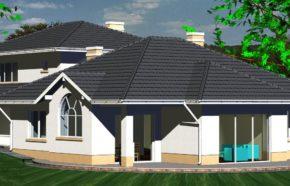 Projekt budynku mieszkalnego jednorodzinnego w Sosnowcu - REALIZACJA