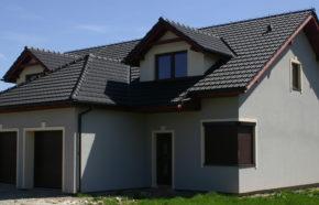 Projekt budynku mieszkalnego jednorodzinnego w zabudowie bliźniaczej w Międzyrzeczu - REALIZACJA 1