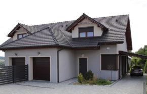 Projekt budynku mieszkalnego jednorodzinnego w zabudowie bliźniaczej w Międzyrzeczu - REALIZACJA