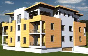 Projekt budynku mieszkalnego wielorodzinnego w Katowicach - REALIZACJA