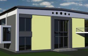 Projekt przebudowy budynku magazynowego na biurowy w Katowicach