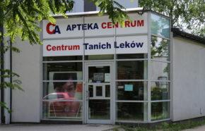 Projekt rozbudowy apteki w Oświęcimiu przy ul. Wysokie Brzegi - REALIZACJA